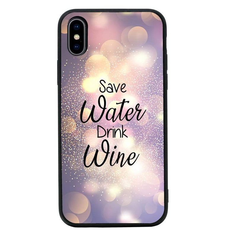 Glass Case Phone Cover for Apple iPhone XR / Wine I-Choose Ltd