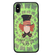 Glass Case Phone Cover for Apple iPhone XR / Wonderland I-Choose Ltd