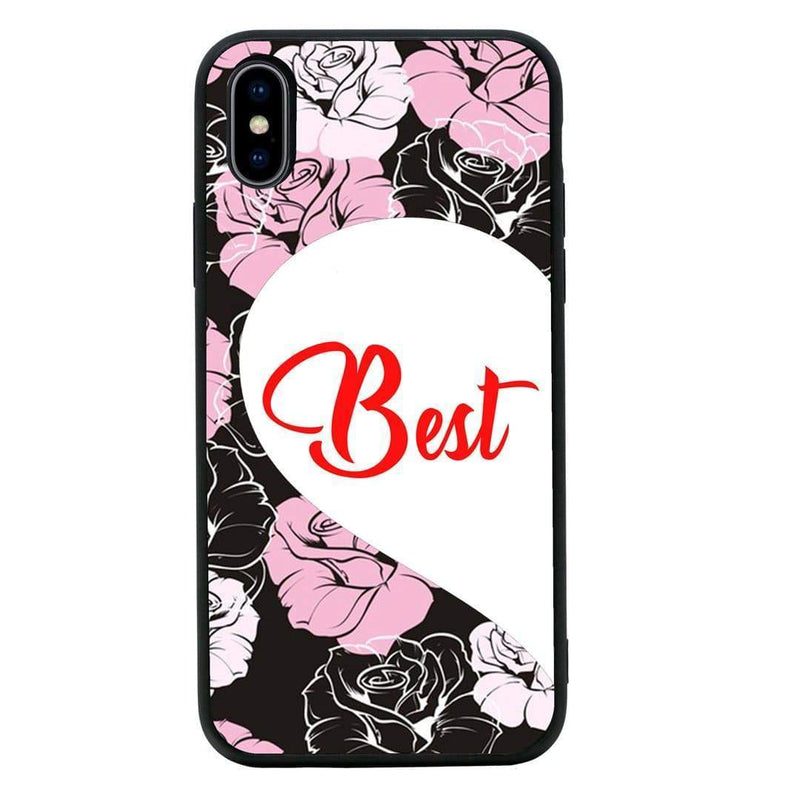 Glass Case Phone Cover for Apple iPhone XS Max / Best Friends I-Choose Ltd