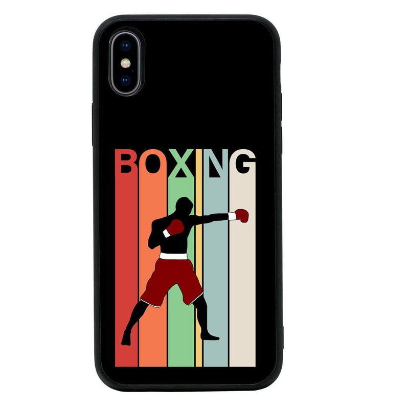 Glass Case Phone Cover for Apple iPhone XS Max / Boxing I-Choose Ltd