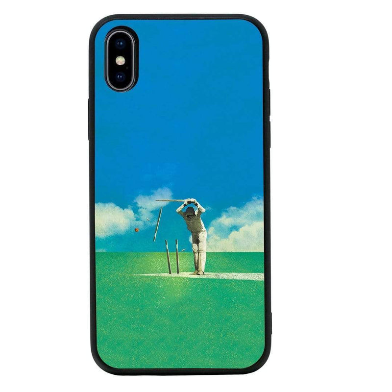 Glass Case Phone Cover for Apple iPhone XS Max / Cricket I-Choose Ltd