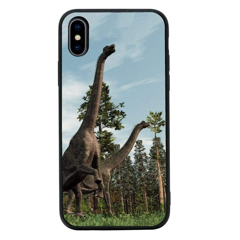 Glass Case Phone Cover for Apple iPhone XS Max / Dinosaur I-Choose Ltd