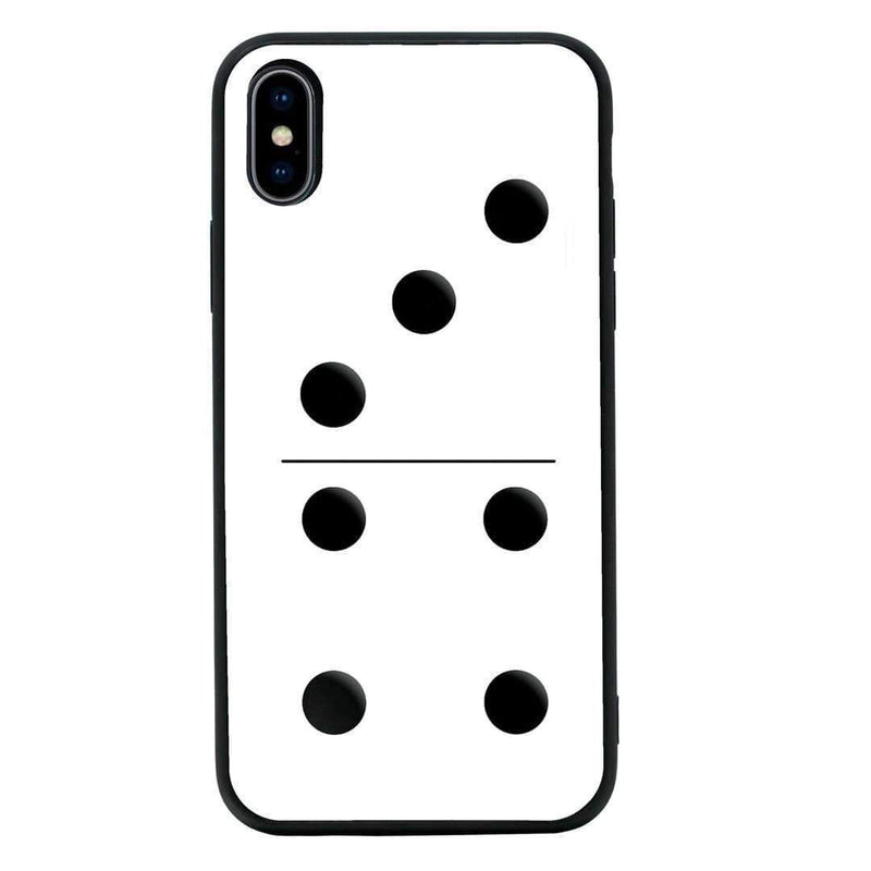 Glass Case Phone Cover for Apple iPhone XS Max / Dominoes I-Choose Ltd