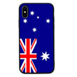 Glass Case Phone Cover for Apple iPhone XS Max / Flags I-Choose Ltd