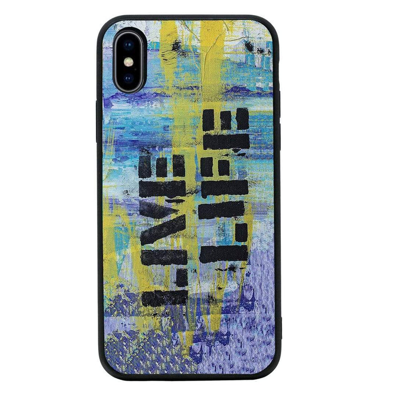 Glass Case Phone Cover for Apple iPhone XS Max / Graffiti I-Choose Ltd