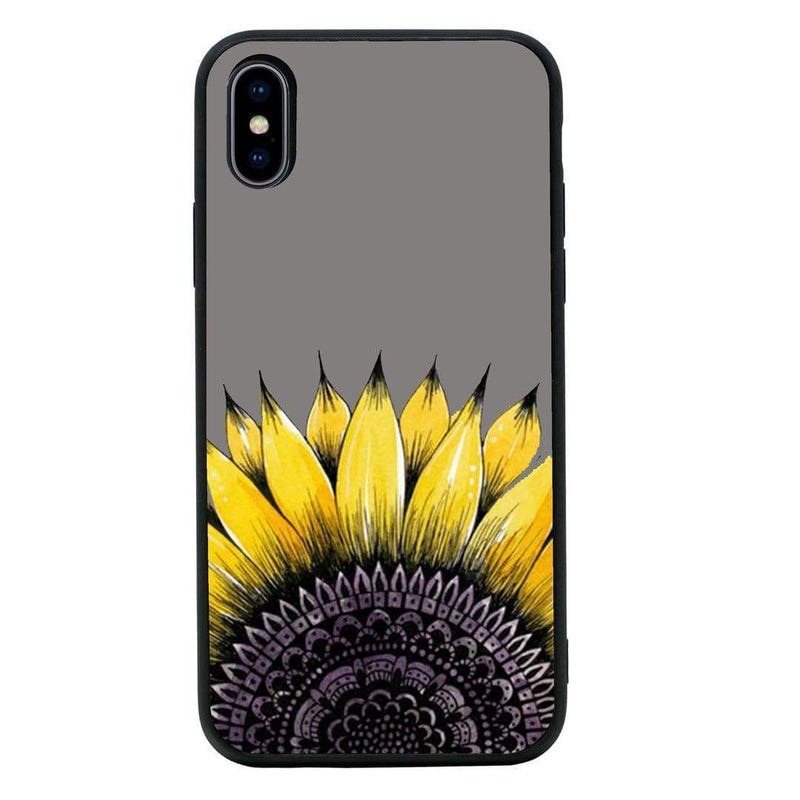 Glass Case Phone Cover for Apple iPhone XS Max / Sunflower I-Choose Ltd