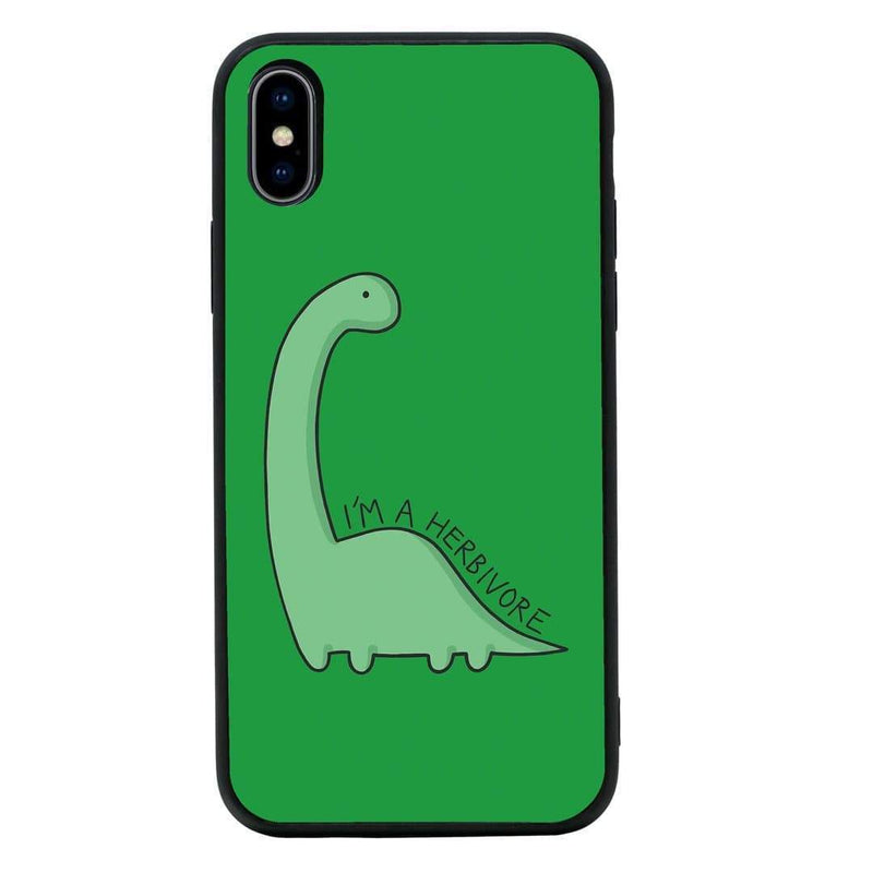 Glass Case Phone Cover for Apple iPhone XS Max / Vegan I-Choose Ltd