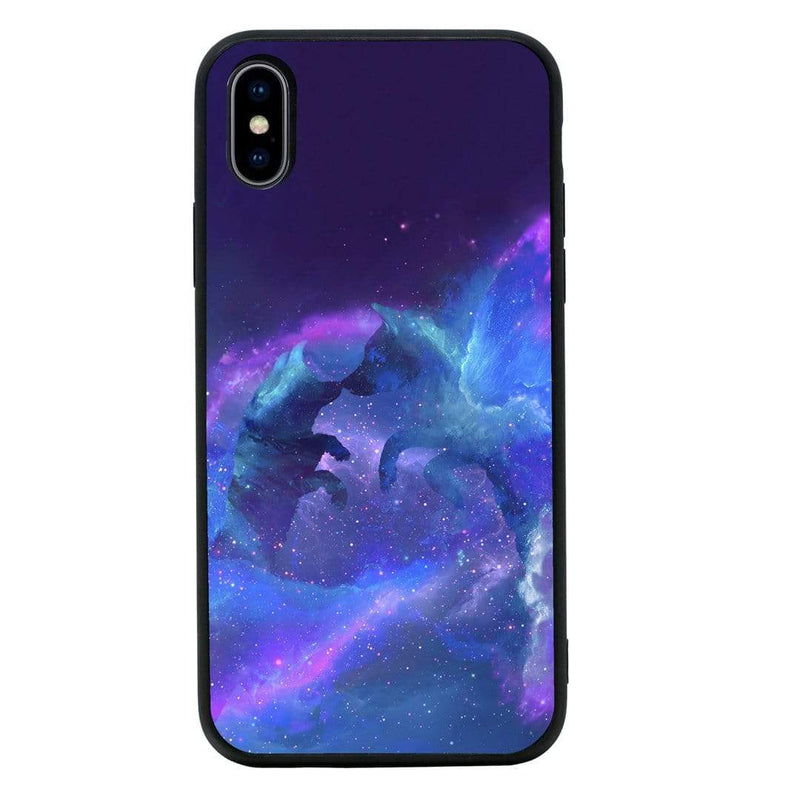 Glass Case Phone Cover for Apple iPhone XS Max / Wolf I-Choose Ltd