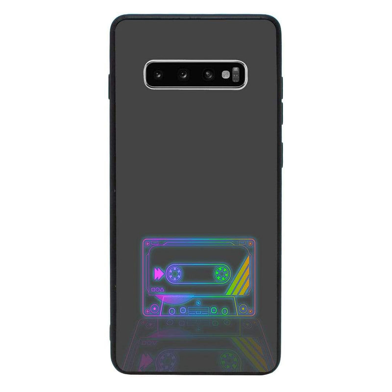 Glass Case Phone Cover for Samsung Galaxy S10 / Cassette Tape I-Choose Ltd
