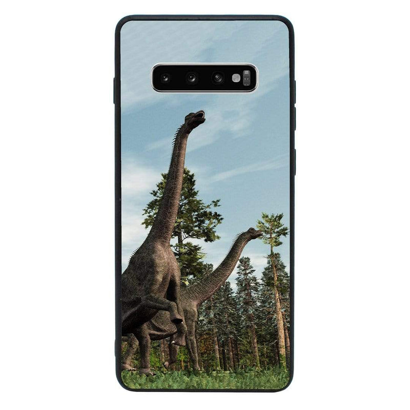 Glass Case Phone Cover for Samsung Galaxy S10 / Dinosaur I-Choose Ltd