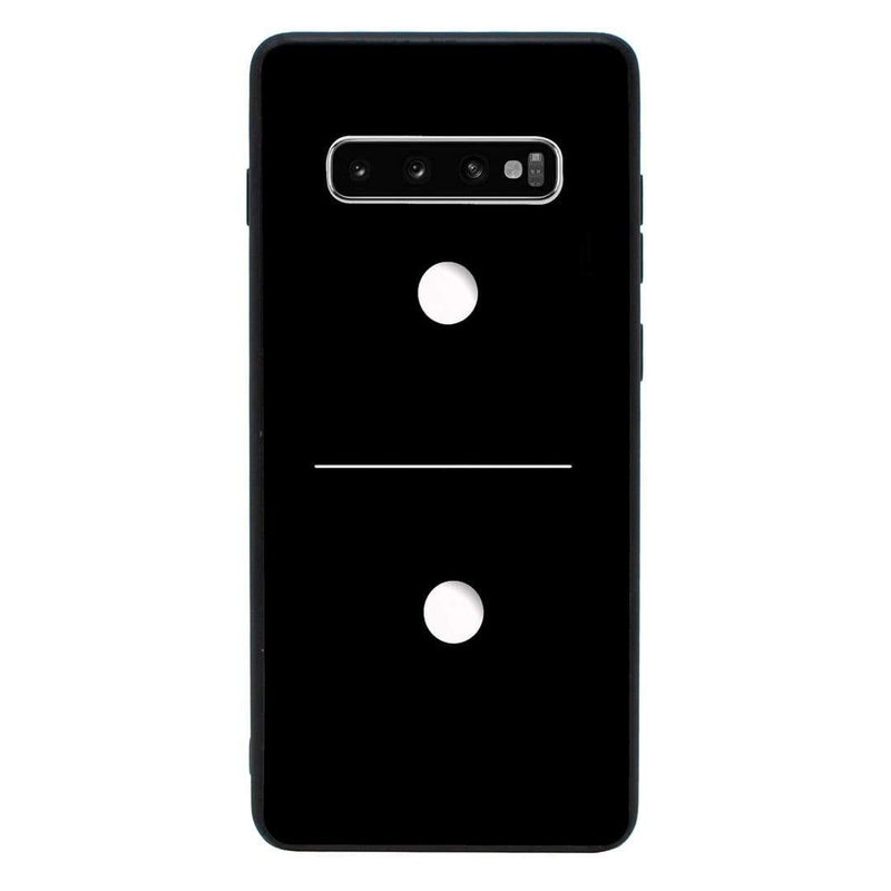 Glass Case Phone Cover for Samsung Galaxy S10 / Dominoes I-Choose Ltd