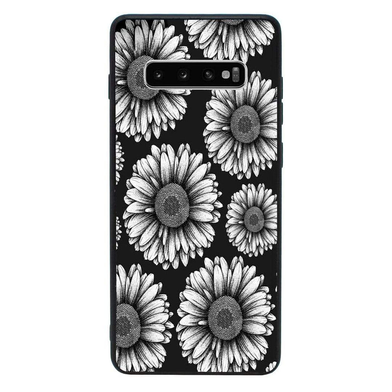 Glass Case Phone Cover for Samsung Galaxy S10 / Floral Bloom I-Choose Ltd