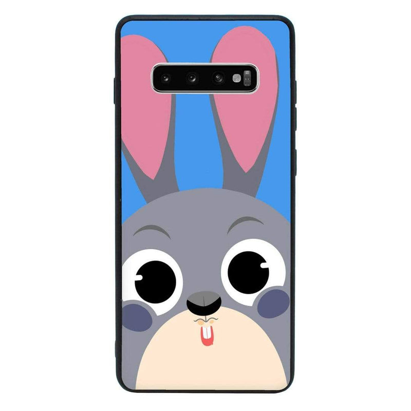 Glass Case Phone Cover for Samsung Galaxy S10 / Funny Animal Quips I-Choose Ltd