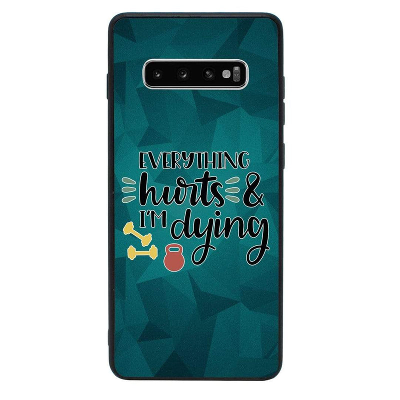 Glass Case Phone Cover for Samsung Galaxy S10 / Gym I-Choose Ltd