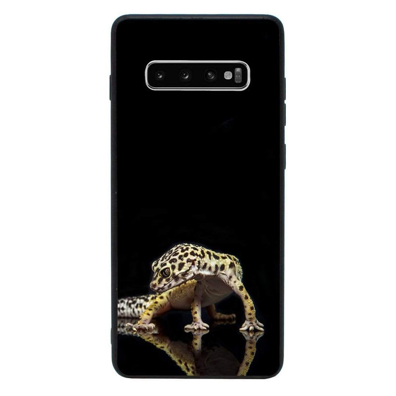 Glass Case Phone Cover for Samsung Galaxy S10 / Lizards I-Choose Ltd