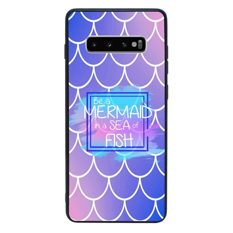 Glass Case Phone Cover for Samsung Galaxy S10 / Mermaids I-Choose Ltd