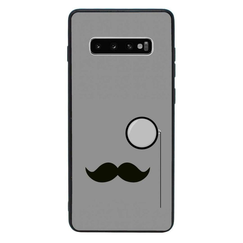 Glass Case Phone Cover for Samsung Galaxy S10 / Moustache I-Choose Ltd
