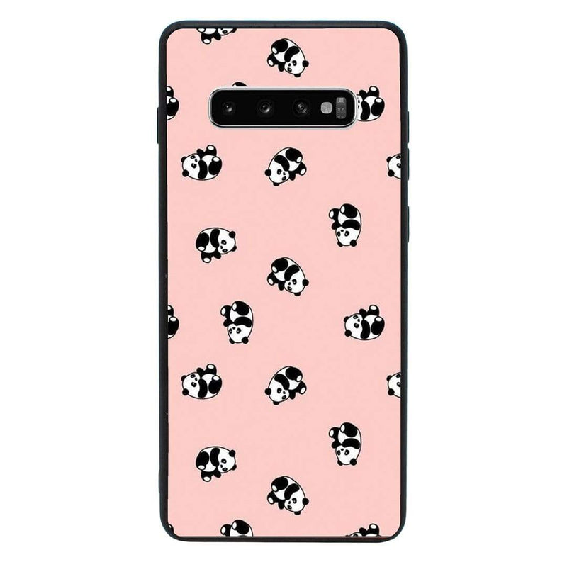 Glass Case Phone Cover for Samsung Galaxy S10 / Panda I-Choose Ltd