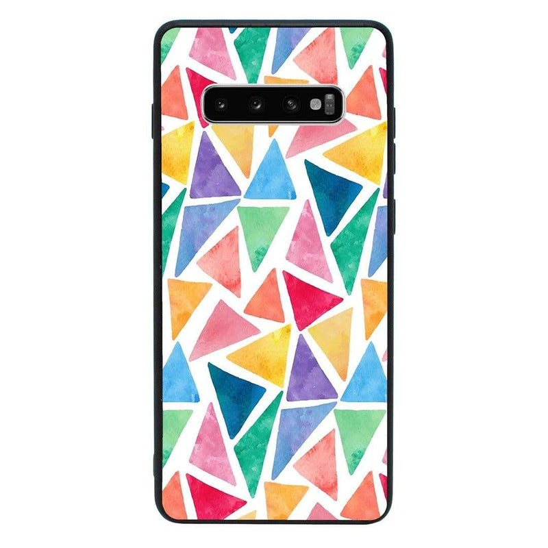 Glass Case Phone Cover for Samsung Galaxy S10 Plus / Abstract I-Choose Ltd
