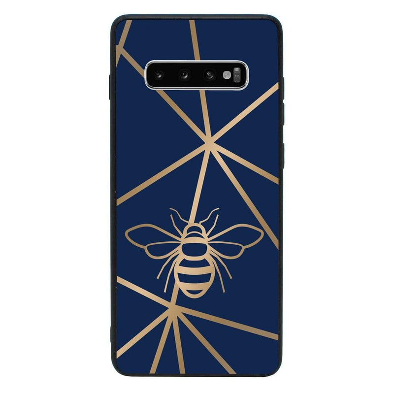Glass Case Phone Cover for Samsung Galaxy S10 Plus / Bee I-Choose Ltd