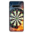 Glass Case Phone Cover for Samsung Galaxy S10 Plus / Darts I-Choose Ltd