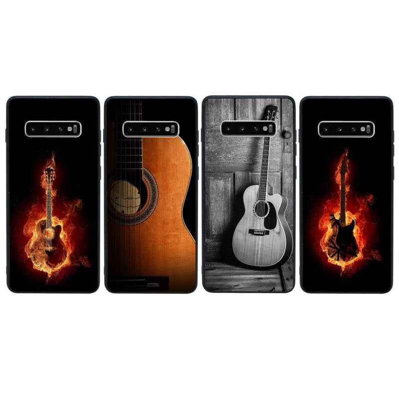 Glass Case Phone Cover for Samsung Galaxy S10 Plus / Guitar I-Choose Ltd