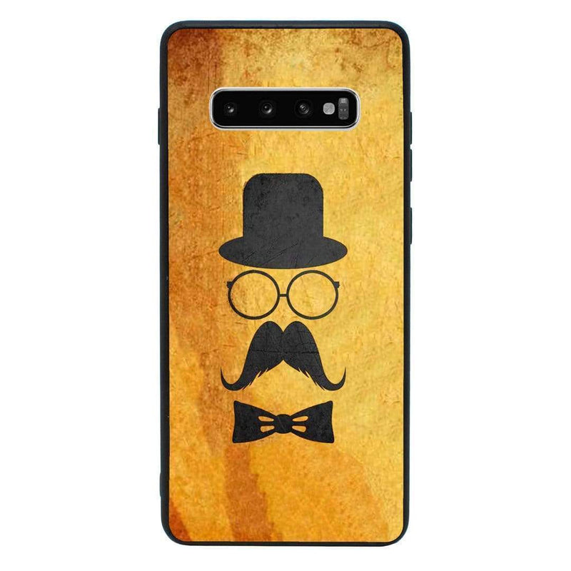 Glass Case Phone Cover for Samsung Galaxy S10 Plus / Moustache I-Choose Ltd