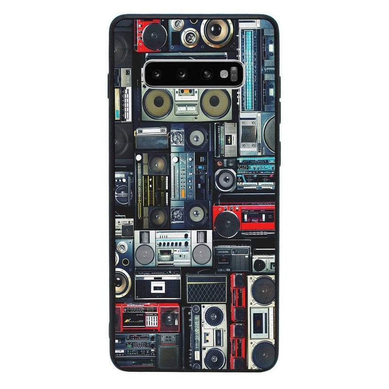 Glass Case Phone Cover for Samsung Galaxy S10 Plus / Music Speakers I-Choose Ltd