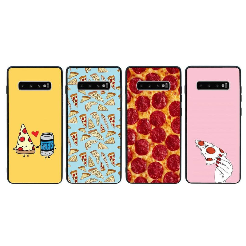 Glass Case Phone Cover for Samsung Galaxy S10 Plus / Pizza I-Choose Ltd