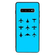 Glass Case Phone Cover for Samsung Galaxy S10 Plus / Planes I-Choose Ltd