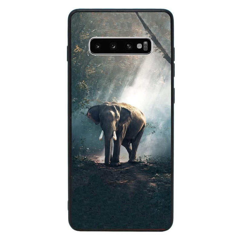 Glass Case Phone Cover for Samsung Galaxy S10 Plus / Safari I-Choose Ltd