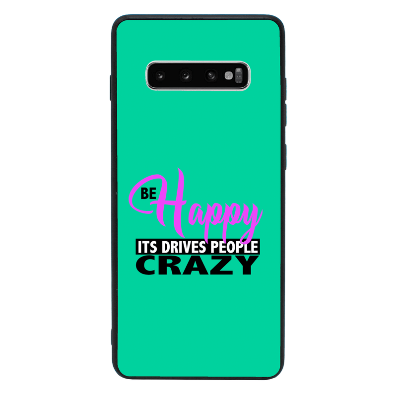 Glass Case Phone Cover for Samsung Galaxy S10 Plus / Sassy I-Choose Ltd