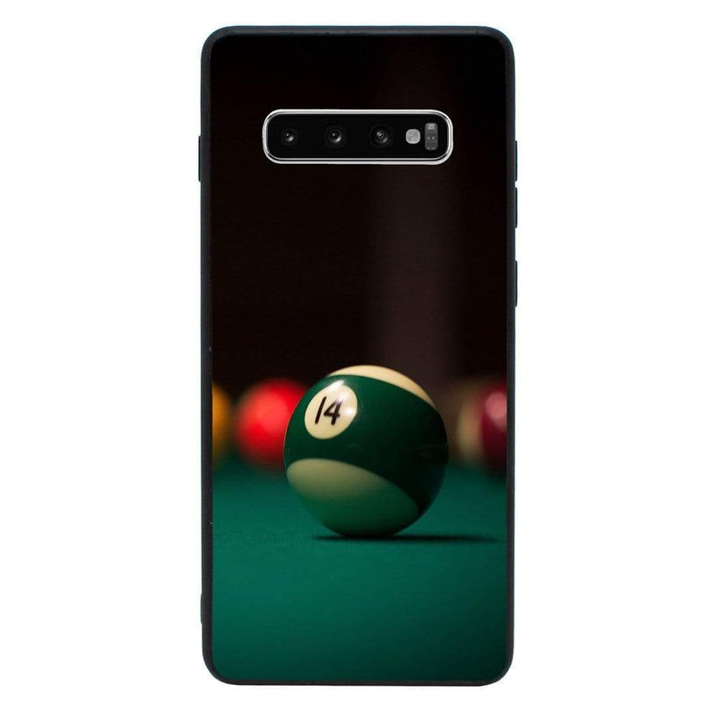 Glass Case Phone Cover for Samsung Galaxy S10 Plus / Snooker I-Choose Ltd