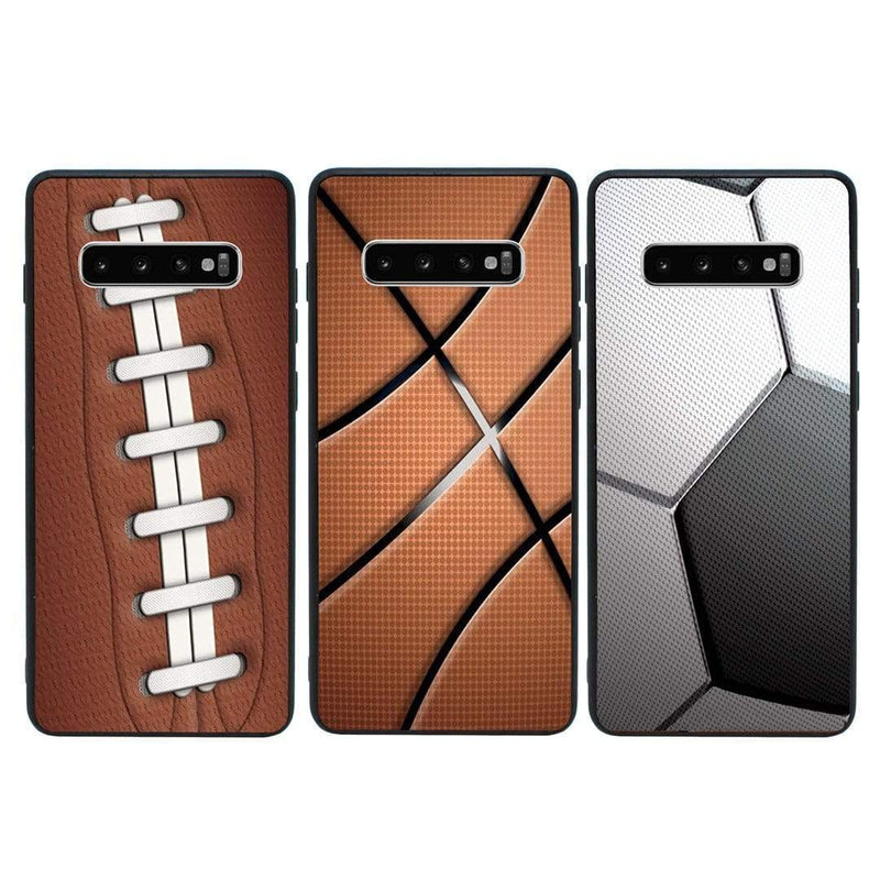 Glass Case Phone Cover for Samsung Galaxy S10 Plus / Sports Ball I-Choose Ltd