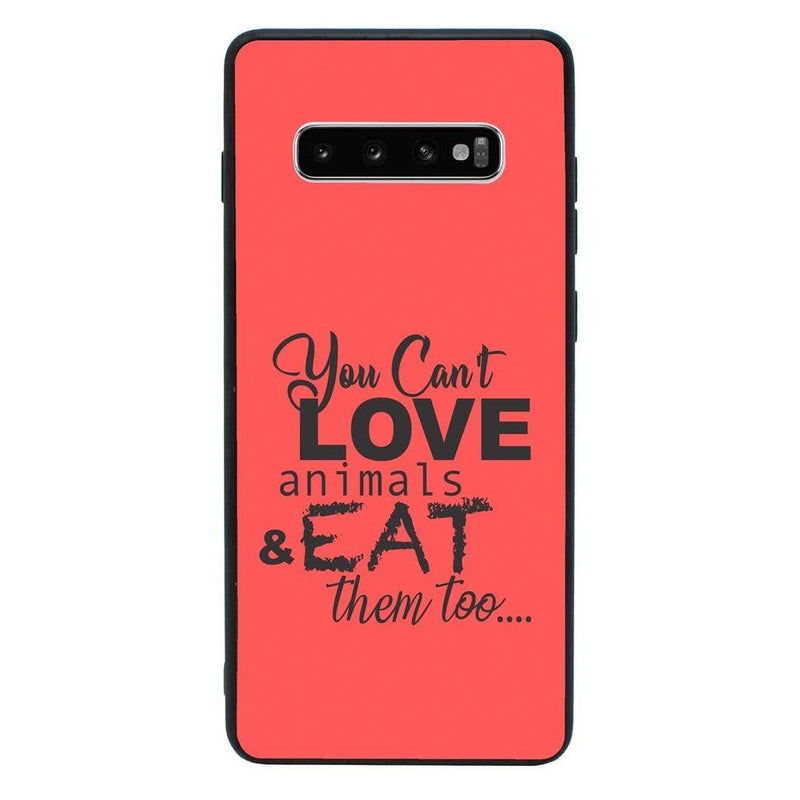 Glass Case Phone Cover for Samsung Galaxy S10 Plus / Vegan I-Choose Ltd
