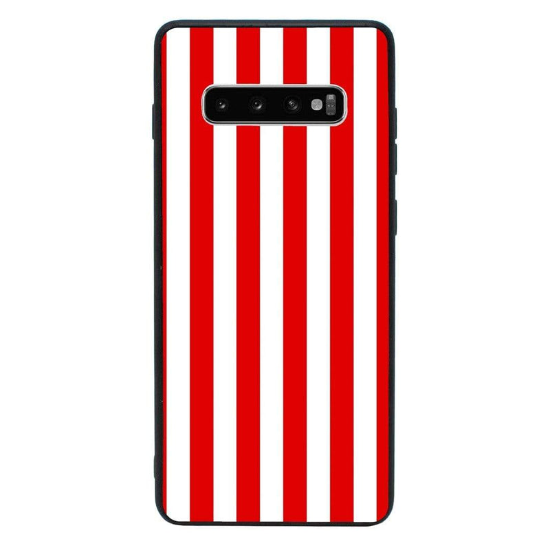 Glass Case Phone Cover for Samsung Galaxy S10 Plus / Vertical Stripes I-Choose Ltd
