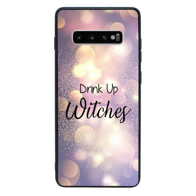 Glass Case Phone Cover for Samsung Galaxy S10 Plus / Wine I-Choose Ltd