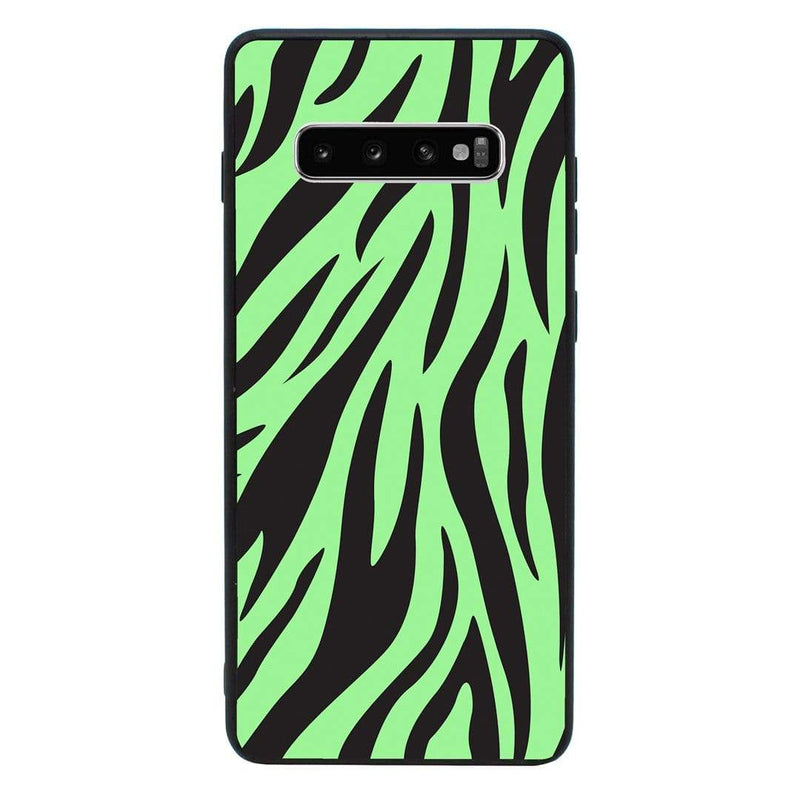 Glass Case Phone Cover for Samsung Galaxy S10 Plus / Zebra Print I-Choose Ltd