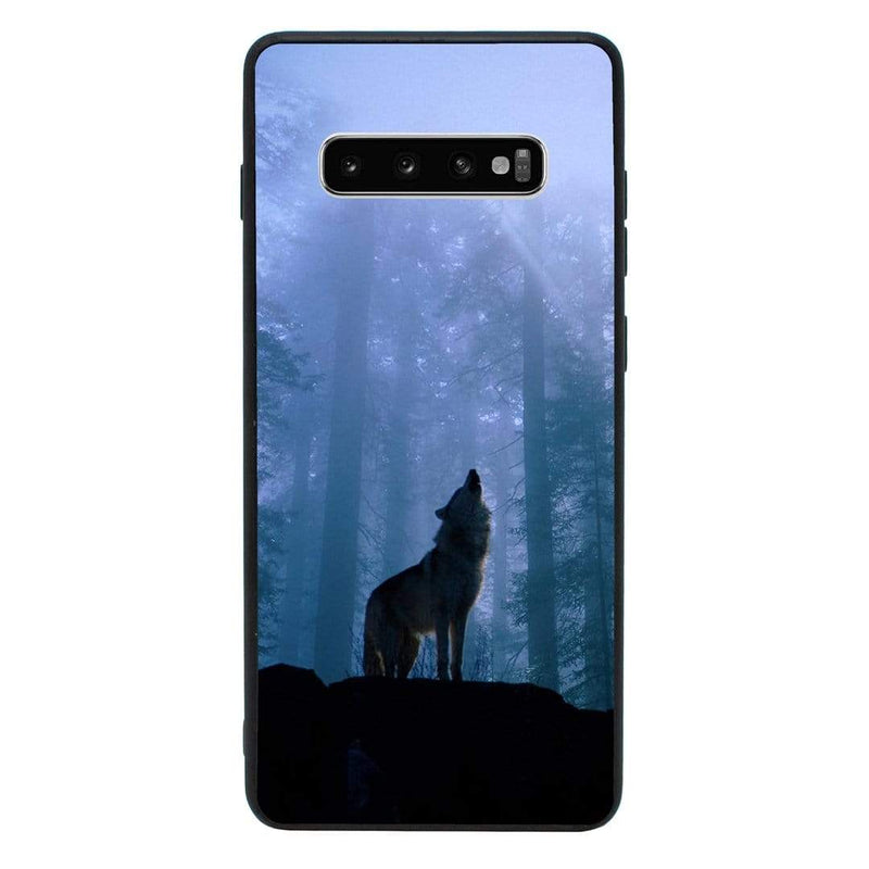 Glass Case Phone Cover for Samsung Galaxy S10 / Wolves I-Choose Ltd