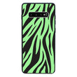 Glass Case Phone Cover for Samsung Galaxy S10 / Zebra Print I-Choose Ltd
