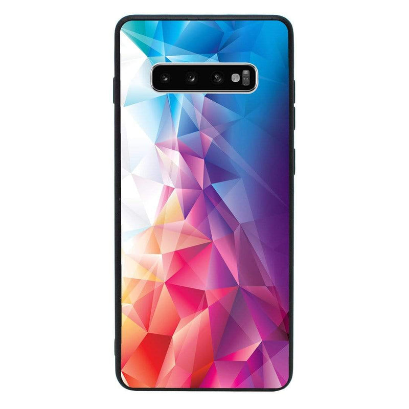 Glass Case Phone Cover for Samsung Galaxy S10E / Abstract I-Choose Ltd
