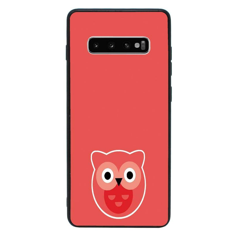 Glass Case Phone Cover for Samsung Galaxy S10E / Animal Face I-Choose Ltd