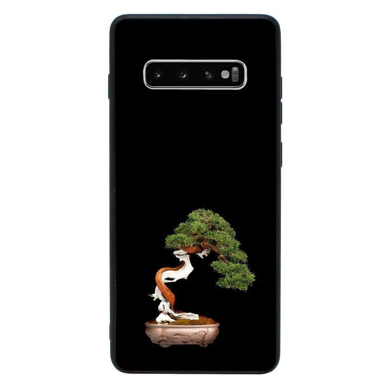 Glass Case Phone Cover for Samsung Galaxy S10E / Bonsai Tree I-Choose Ltd