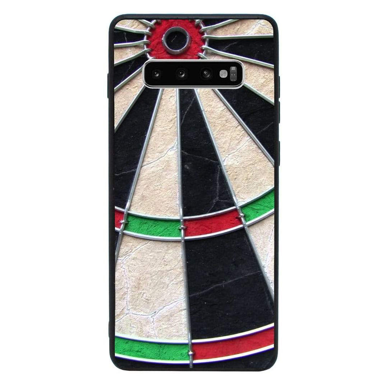 Glass Case Phone Cover for Samsung Galaxy S10E / Darts I-Choose Ltd