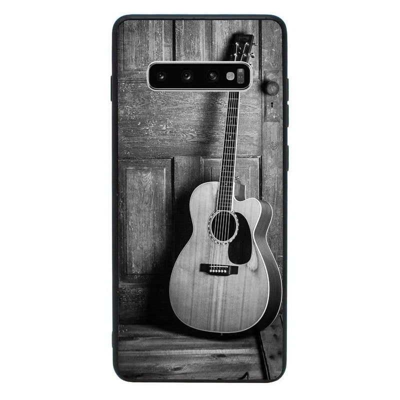 Glass Case Phone Cover for Samsung Galaxy S10E / Guitar I-Choose Ltd