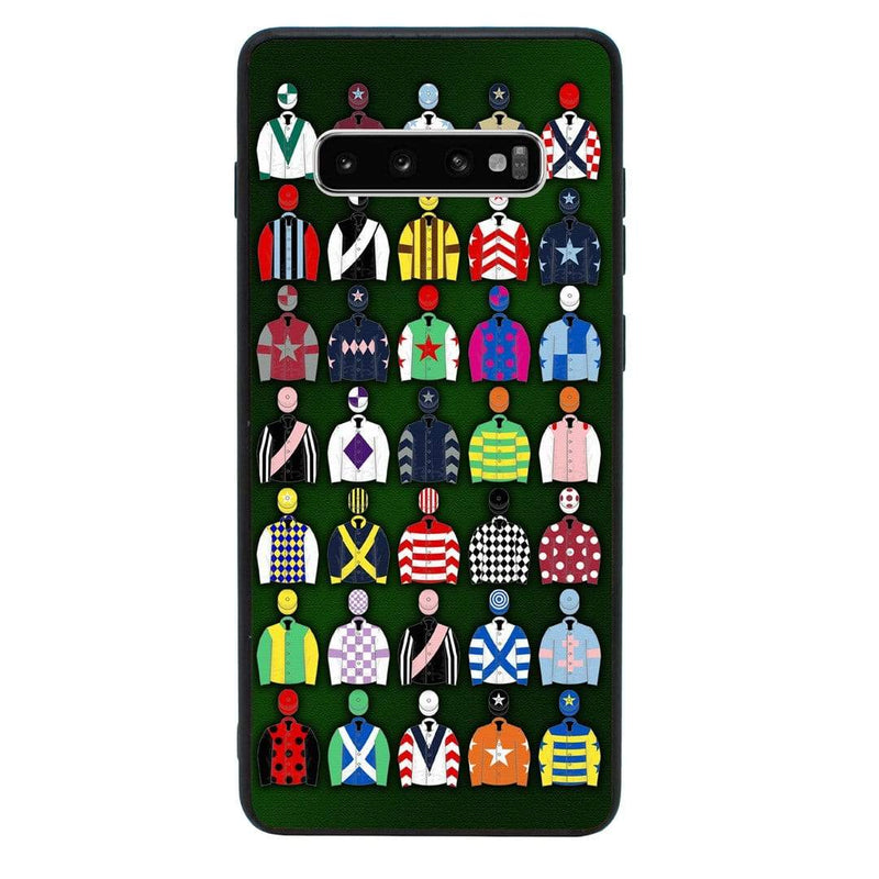 Glass Case Phone Cover for Samsung Galaxy S10E / Horse Racing I-Choose Ltd