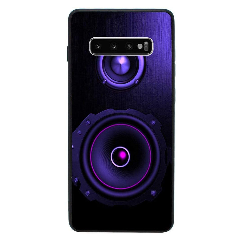 Glass Case Phone Cover for Samsung Galaxy S10E / Music Speakers I-Choose Ltd