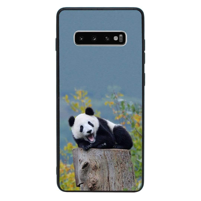 Glass Case Phone Cover for Samsung Galaxy S10E / Panda Cub I-Choose Ltd