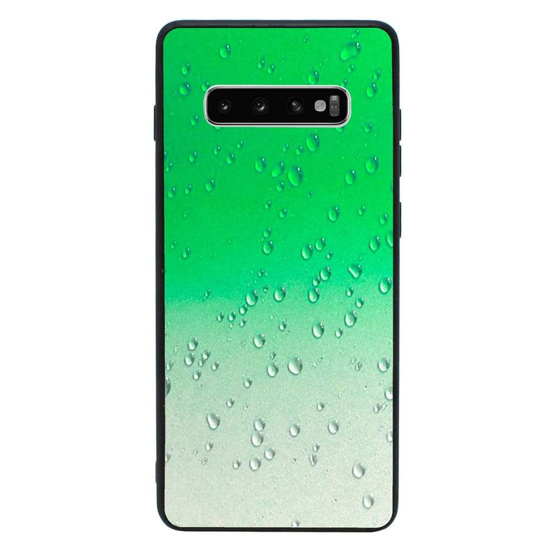 Glass Case Phone Cover for Samsung Galaxy S10E / Raindrop I-Choose Ltd