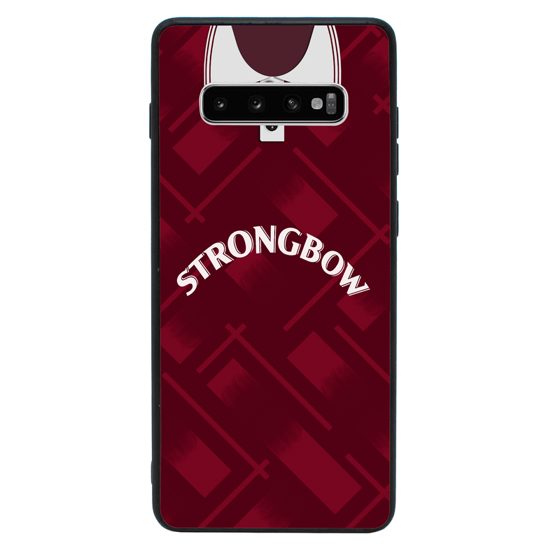 Glass Case Phone Cover for Samsung Galaxy S10E / Retro Football Shirt I-Choose Ltd